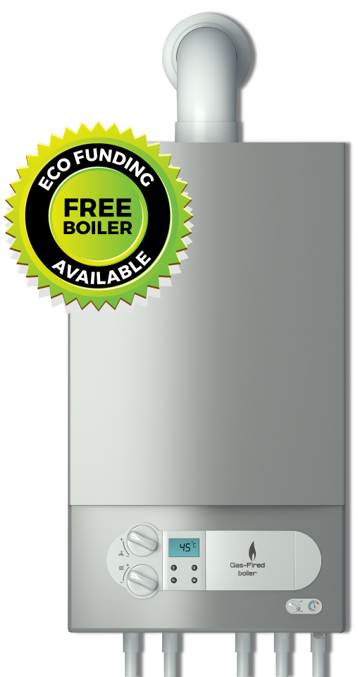 Government ECO funding new free boiler